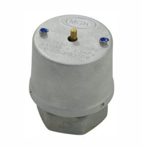 Válvula de Vácuo 2,5 kPa e Pressão 22 kPa Rosca Interna
