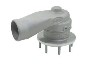 Válvula de Ventilação com prisioneiro por baixo 73mm - Viton