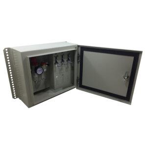 Caixa de Comando Slim 3 Compartimentos