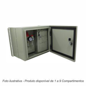 Caixa de Comando Slim 6 Compartimentos