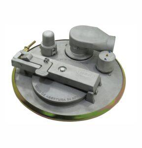 Tampa de Inspeção Mecânica 500mm Completa 90 - Teflon