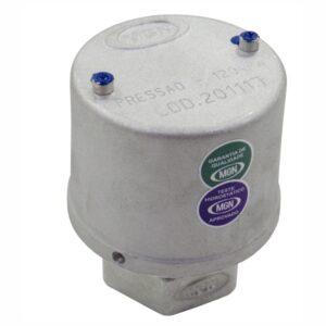 Válvula de Alívio e Pressão 100 kPa