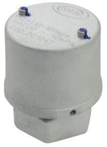 Válvula de Vácuo 10 kPa e Pressão 100 kPa - Viton
