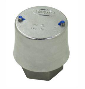 Válvula de Vácuo 10 kPa e Pressão 200 kPa