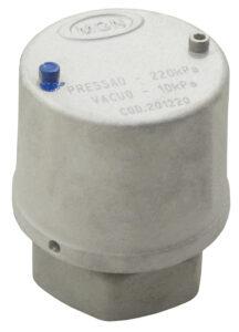 Válvula de Vácuo 10 kPa e Pressão 220 kPa - Teflon