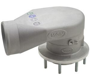 Válvula de Ventilação com Prisioneiro por baixo 90mm- Viton